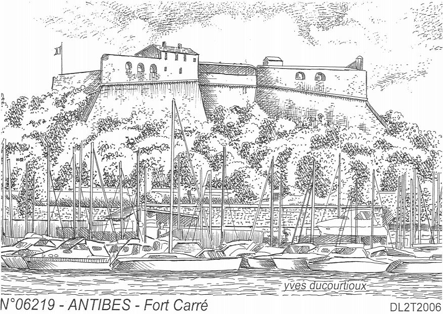 Cartes postales ANTIBES - fort carré