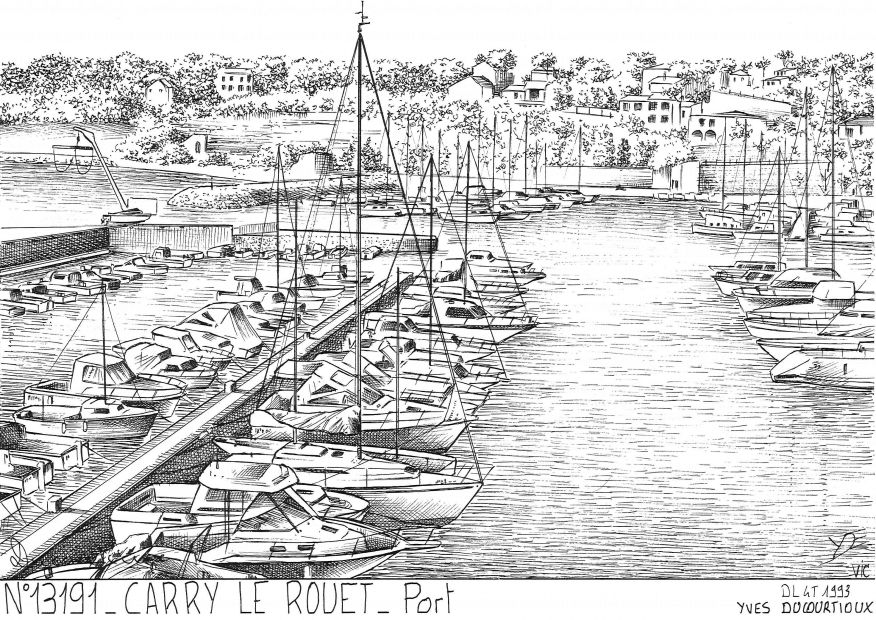 Carte Postale N° 13191 - CARRY LE ROUET - port