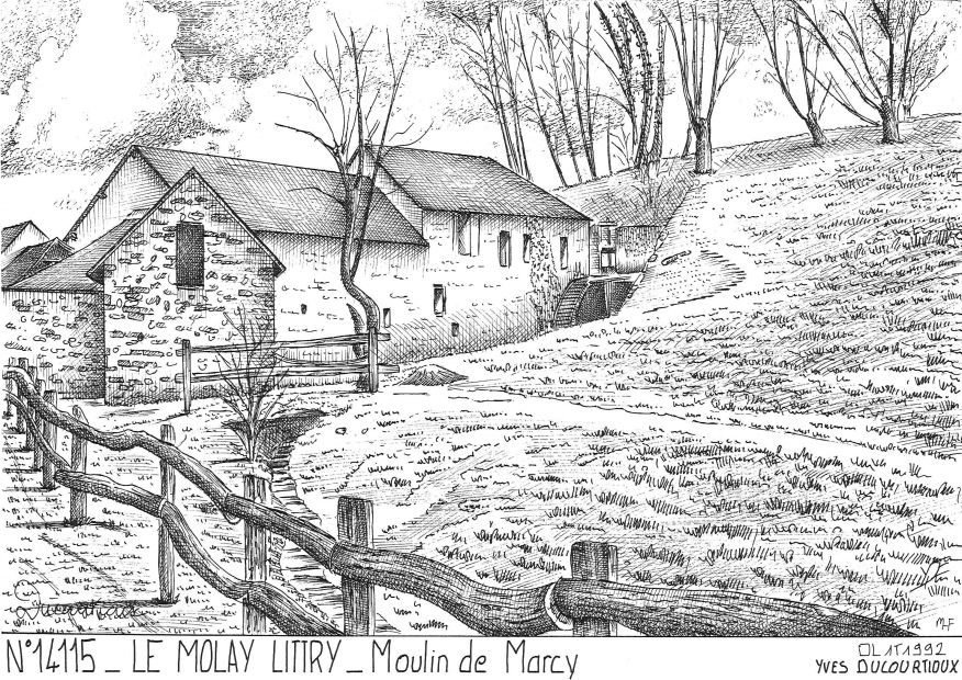 Carte Postale N° 14115 - LE MOLAY LITTRY - moulin de marcy