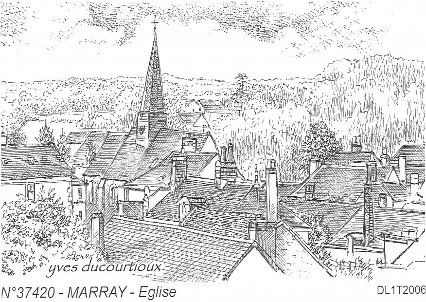 Souvenirs MARRAY - église
