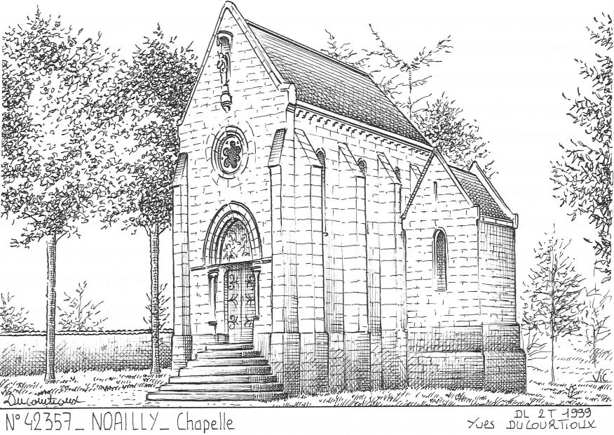 Carte Postale N° 42357 - NOAILLY - chapelle