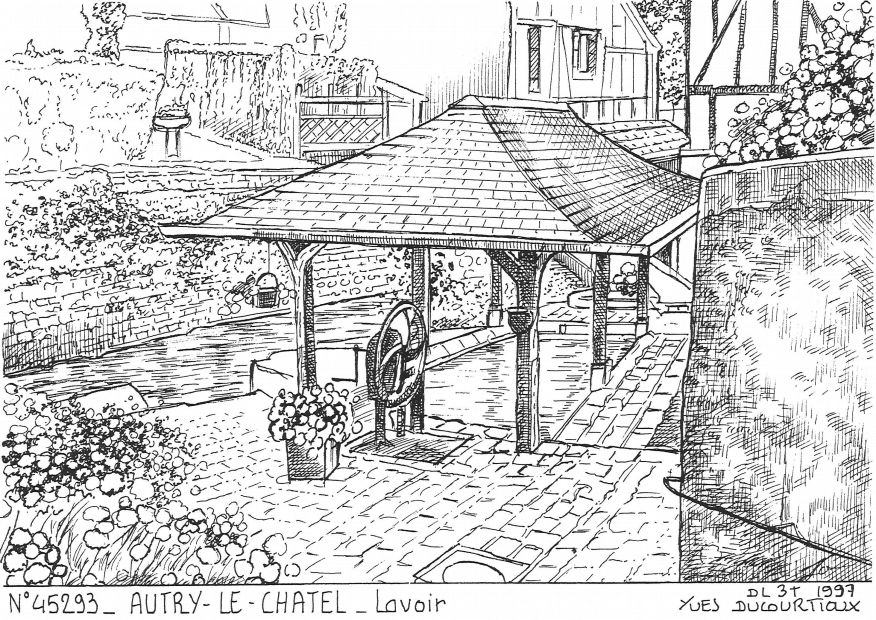 Carte Postale N° 45293 - AUTRY LE CHATEL - lavoir