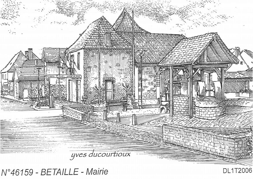 Cartes postales BETAILLE - mairie