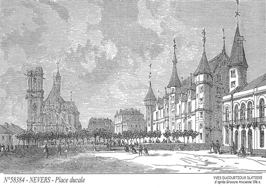 Souvenirs NEVERS - place ducale²