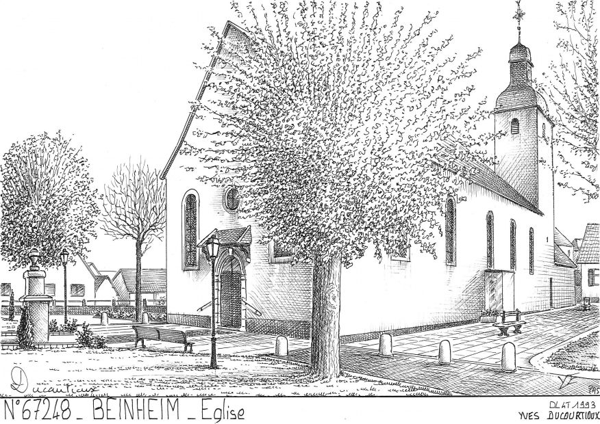 N° 67248 - BEINHEIM - église