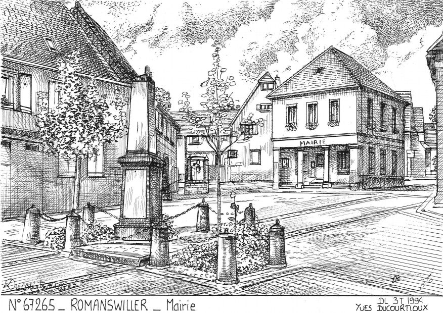 Souvenirs ROMANSWILLER - mairie
