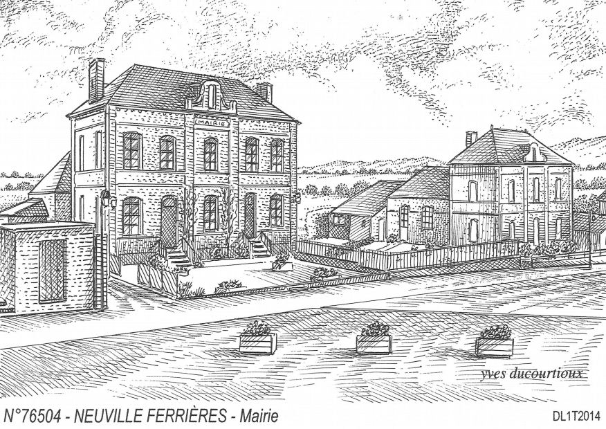 Cartes postales NEUVILLE FERRIERES - mairie
